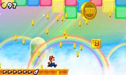NSMB2 Screenshot Welt 3-Regenbogen.png