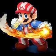 SSB4 Sprite Mario 1