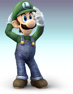 SSBB Artwork Luigi