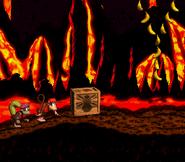 DKC2 Screenshot Lava-Samba 3