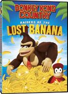 Donkey Kong Country Raiders of the Lost Banana (DVD)