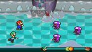 Mario and Luigi vs Shroobs