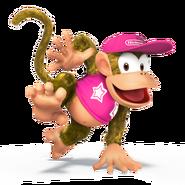 SSB4 Sprite Diddy Kong 2