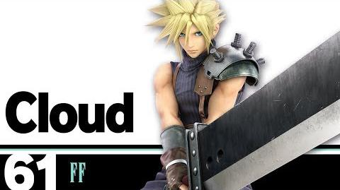 61 Cloud – Super Smash Bros