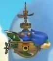 Ludwig Von Koopa's Airship