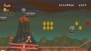 Para-Bomb en New Super Mario Bros. Wii