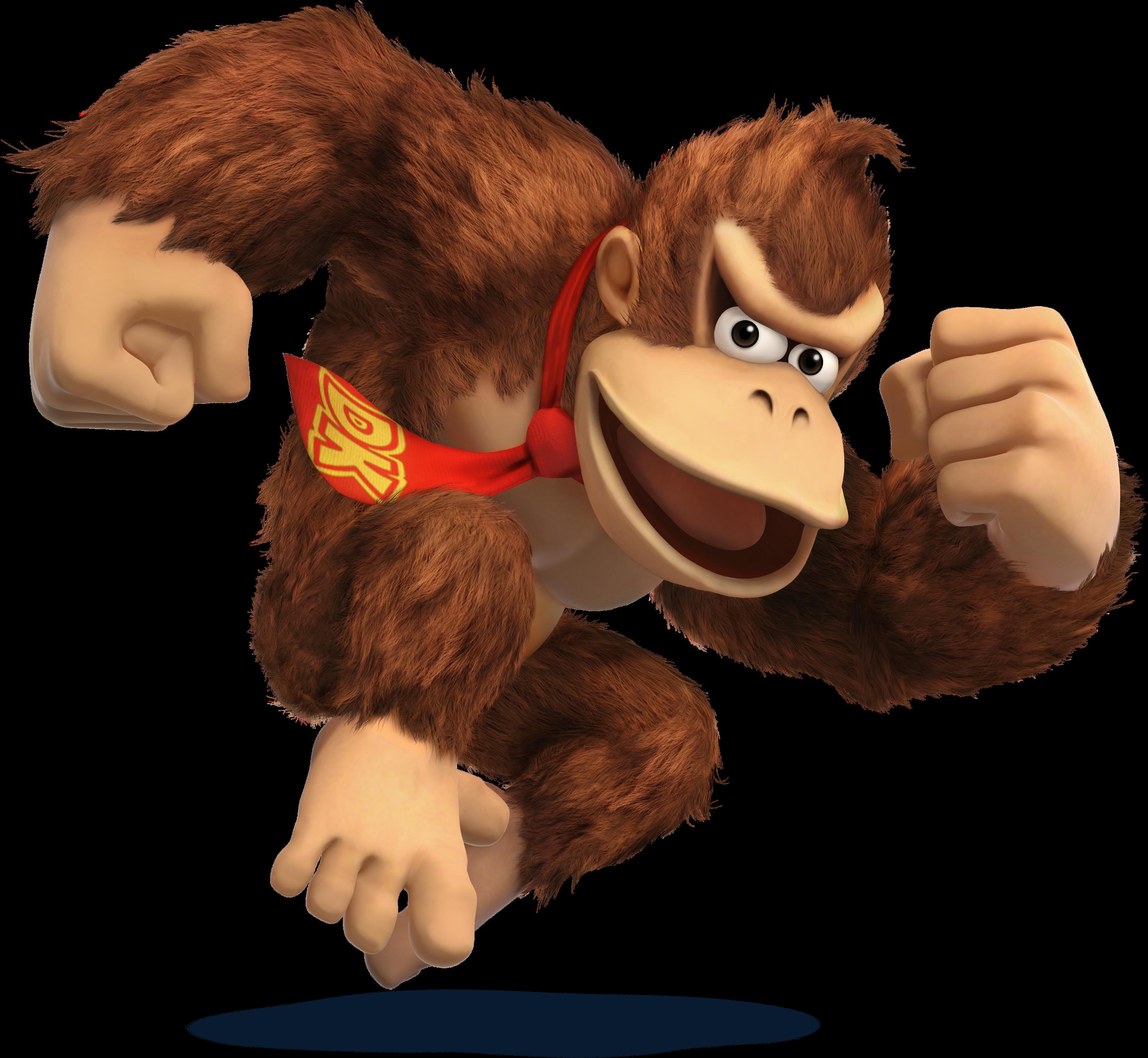 SSB4 Artwork Donkey Kong.png