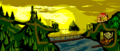 Vine Valley - Overview - Donkey Kong Country (Color)