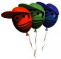 DKC2 Artwork Extraleben-Ballons