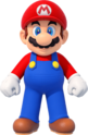NSMBUD Artwork Mario