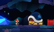 Buzzy Beetle en Paper Mario- Sticker Star