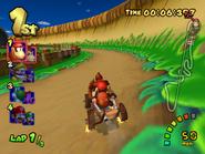 DK Mountain - Racing - Double Dash!!