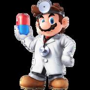 SSB4 Artwork Dr. Mario