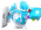 Eiszapfen-Golem