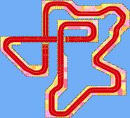 Route Ruban - MKSC (parcours)