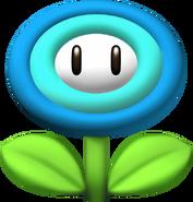 NSMBW ice flower