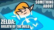 Something About Zelda Breath of the Wild ANIMATED SPEEDRUN ❤️❤️🖤 ANY% 04 11 (no amiibo) WR