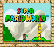 SuperMarioWorldTitleScreen