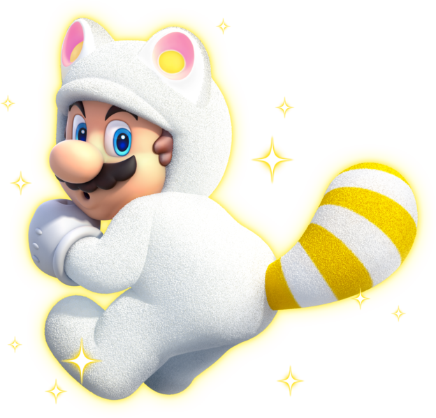 White Tanooki Mario (power-up)