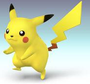 SSBB Artwork Pikachu
