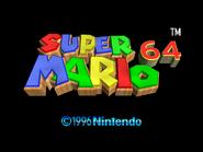 SuperMario64TitleScreen