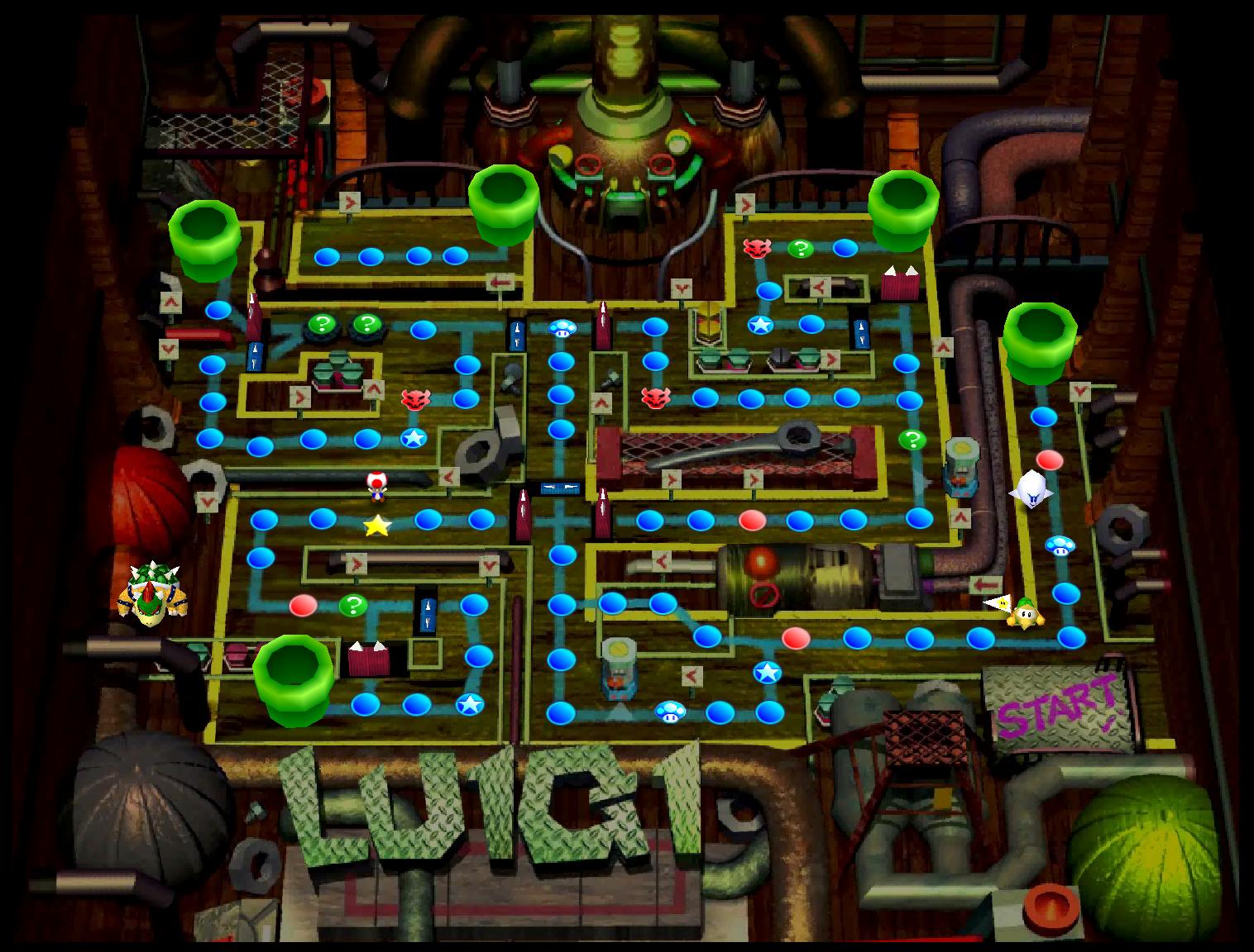 Luigi's Engine Room