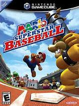 Mario superstar baseball anglais boîte