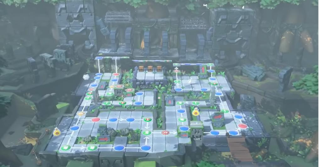 Ruines dominos des Whomps