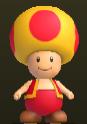 Toad Amarillo de Fuego