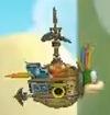 Lemmy Koopa's Airship