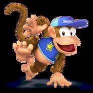 SSB4 Sprite Diddy Kong 5