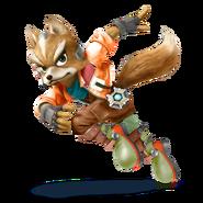 SSB4 Sprite Fox 5