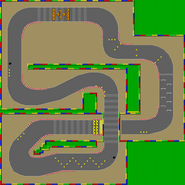 Circuit Mario 2 - SMK (parcours)