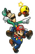 M&L3 Artwork Mario und Luigi 2