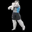 SSBU Artwork Wii Fit Trainer