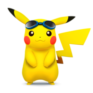 SSB4 Sprite Pikachu 3