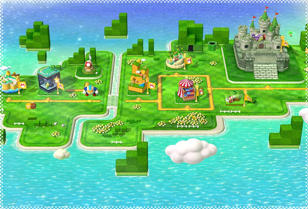 Mundo 1 (Super Mario 3D World)