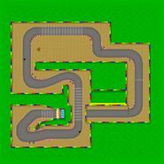 Circuit Mario 2 - MK7 (parcours)