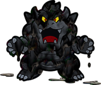 Black Paint Bowser