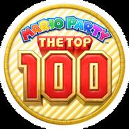 Mario Party The Top 100 Logo
