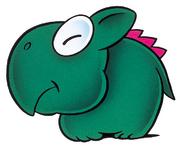 SMW Arte - Dino Rhino