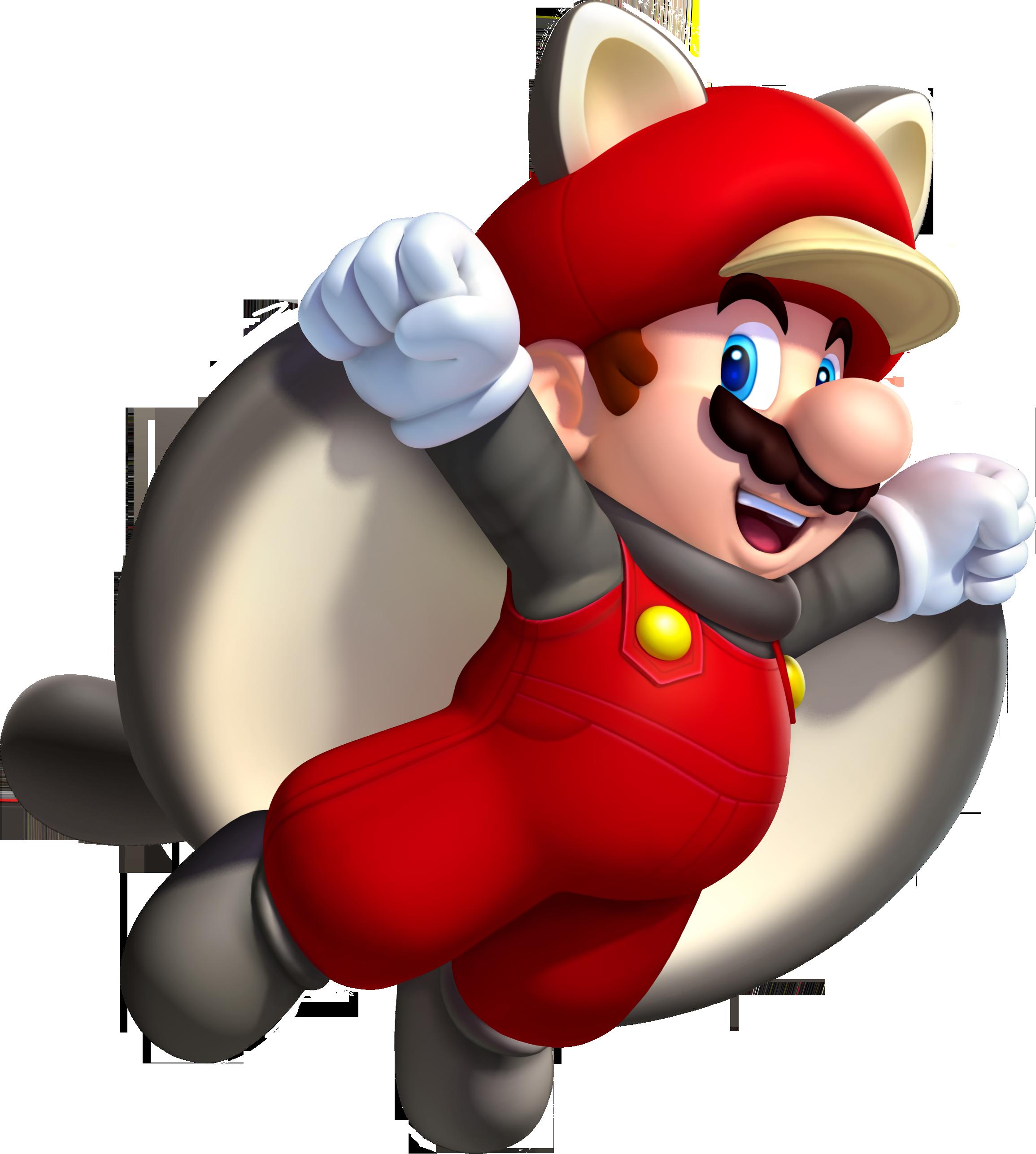 Mario écureuil volant