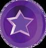 Moneda purpura SMG