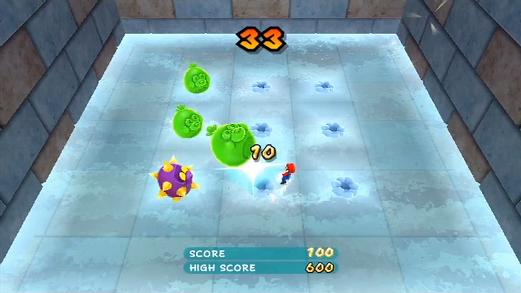 Buis neben Mario