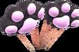 MKT Sprite Schwarz-Pfotenballons