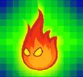 SPM Sprite Lava Blub-Fangkarte