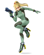 SSB4 Sprite Zero Suit Samus 7