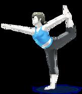 SSB4 Artwork Wii Fit-Trainerin