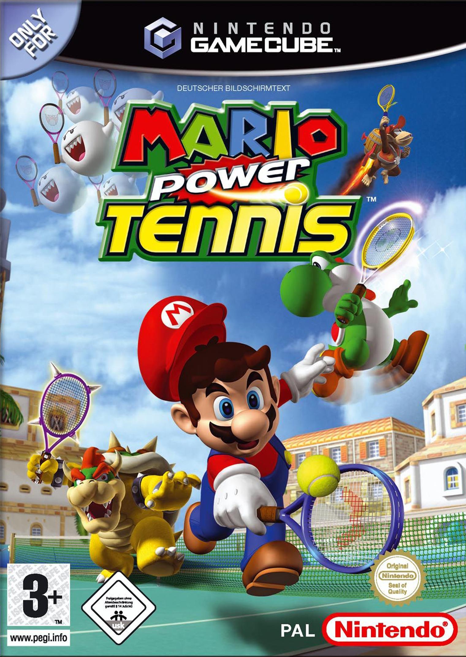 Mario Power Tennis (Nintendo GameCube)