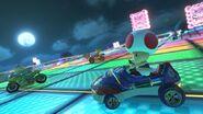 MK8 Screenshot SNES Regenbogen-Boulevard 4